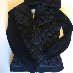 Eddie Bauer Premium Goose Down Black Jacket